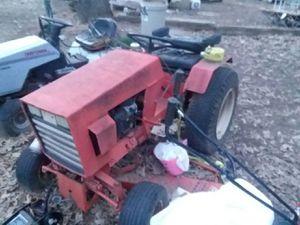 Photo Case 446 garden tractor