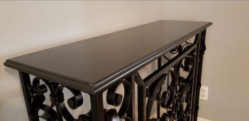 Granite / Iron - Wall Table Thumbnail