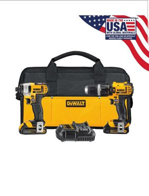 DEWALT DCK280C2 20-Volt Max Li-Ion 1.5 Ah Compact Drill and Impact Driver Kit for Sale in Kettering, MD