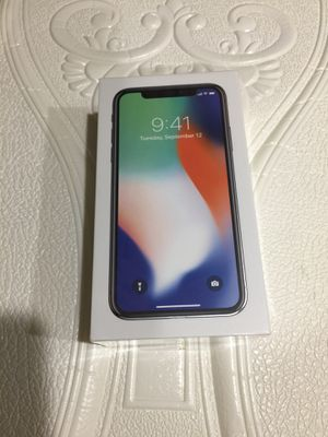 iPhone X 256gb BRAND NEW UNLOCKED for Sale in Annandale, VA