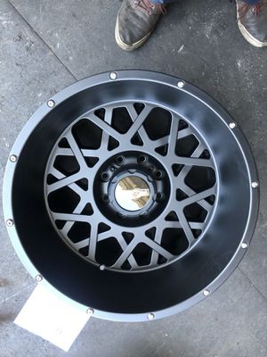 Brand new 20x12 8 lugs with 33 mud terrain tires $1650 for Sale in Los Angeles, CA