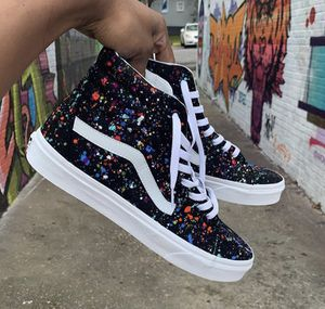 b89cdedc46d Custom Splatter van high tops for Sale in Rancho Cucamonga