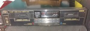 Photo JVC STEREO DOUBLE CASSETTE DECK PLAYER WITH SYNCHRO DUBBING (TD-W330)