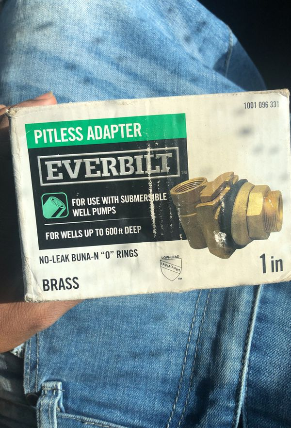 EVERBILT Pitless Adapter for Sale in Antioch, CA - OfferUp