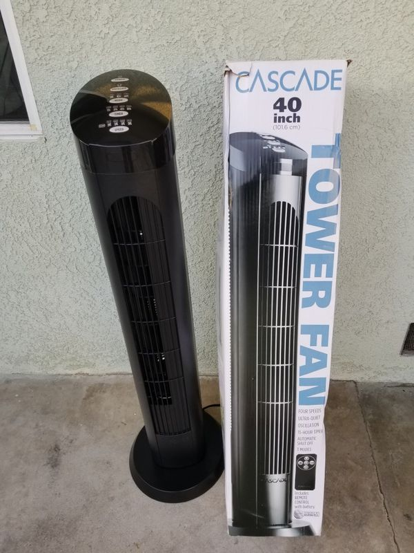 Cascade 40 Quot Tower Fan With Remote Control For Sale In