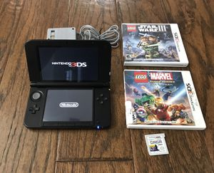 Nintendo 3DS XL with 3 games for Sale in Orlando, FL