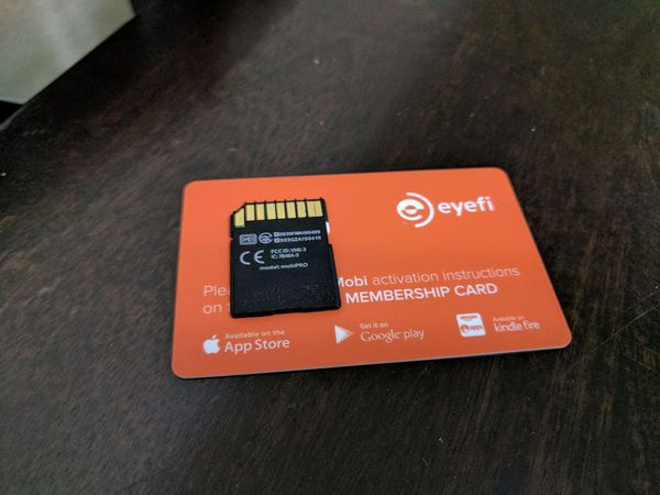 Eyefi Mobi Pro 16gb Wireless Memory Card For Sale In Fairfield Ca