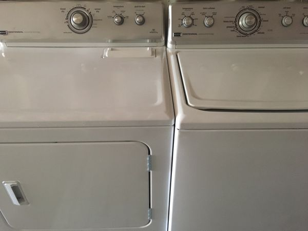 Maytag Centennial Washer Dryer Match Set Work Look Perfect