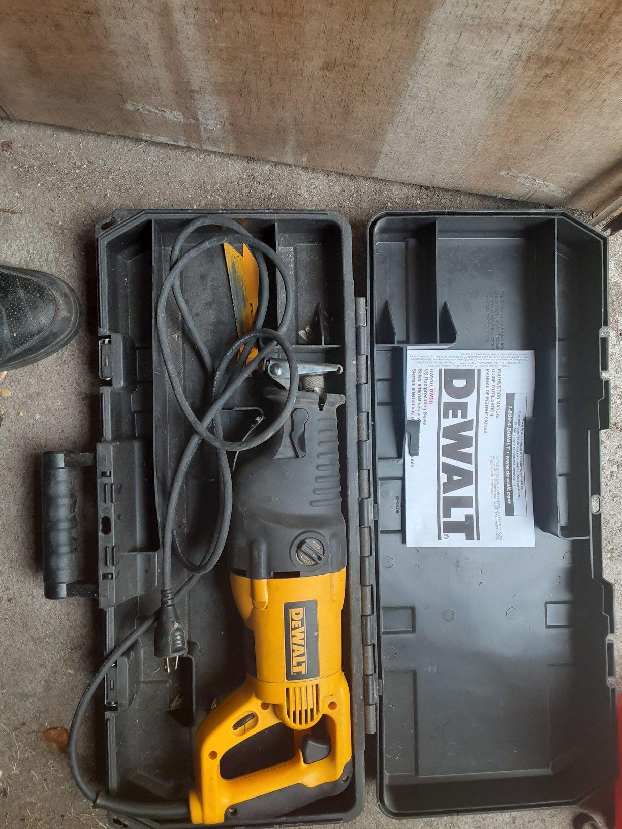 Dealt saw saw