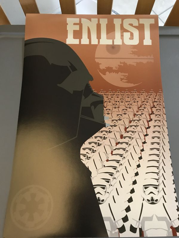 Star Wars Empire Propaganda Recruitment Poster 11x19 Unframed