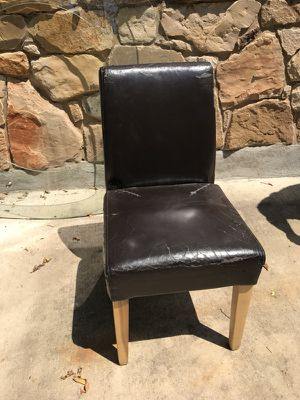 Leather chairs, sturdy (35) for Sale in Austin, TX