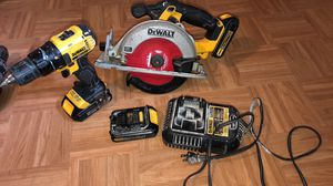Dewalt drill and saw for Sale in Alexandria, VA