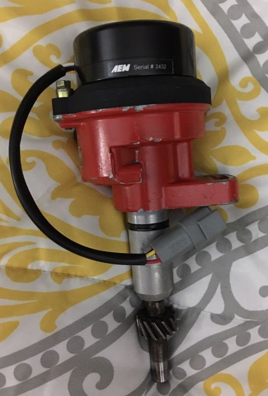 Toyota 22re 22r Distributor with AEM EPM and Adapter for Sale in Universal  City, TX - OfferUp