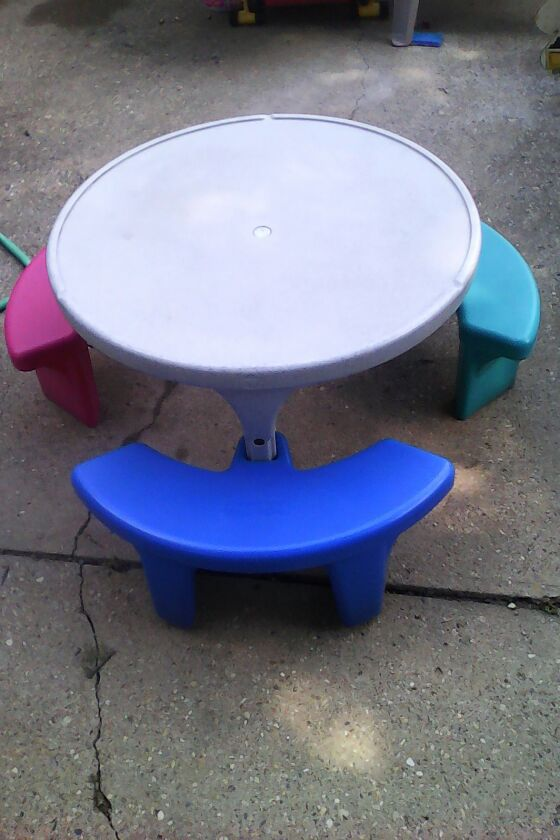 Fisher price picnic table baby kids in greenwood in offerup watchthetrailerfo