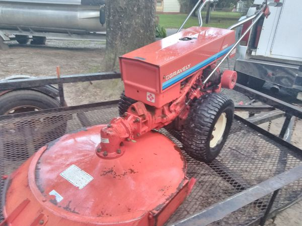 Walk Behind Tractor >> 1970 Gravely Walk Behind Tractor For Sale In Mobile Al Offerup