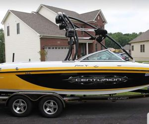 2008 Falcon V Air Warrior ski and surf sports boat for Sale in Aspen Hill, MD