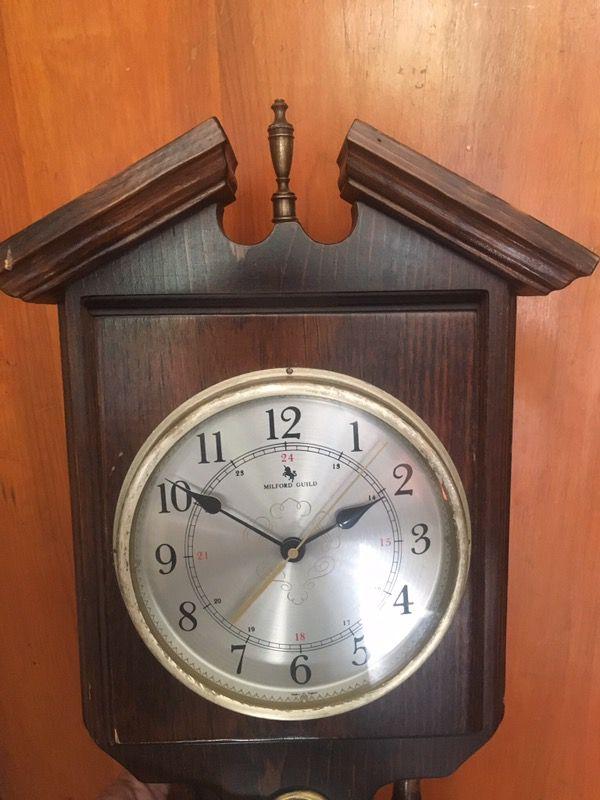 Vintage MILFORD GUILD clock , weather station Decor. (Antiques) in ...