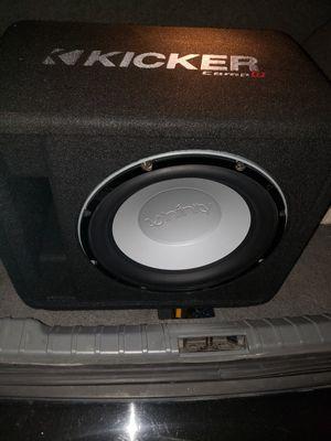 Photo Xfinity kappa 12 inch in ported box
