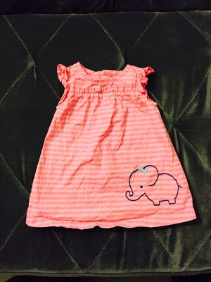 Carter's Pink & White Baby Girl Dress for Sale in San Diego, CA