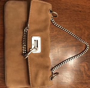 3 exquisite real Michael Kors suede purses for Sale in Silver Spring, MD