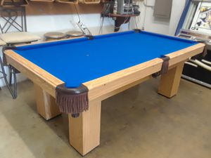 Reconditioned Pool Tables From And Up For Sale In Houston - Boessling pool table