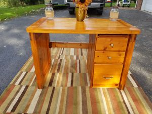 Rustic Style Solid Wood Desk for Sale in Cranberry Township, PA