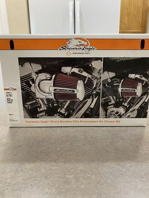Photo Harley Davidson Screamin Eagle Heavy Breather Elite Performance Air Cleaner Kit