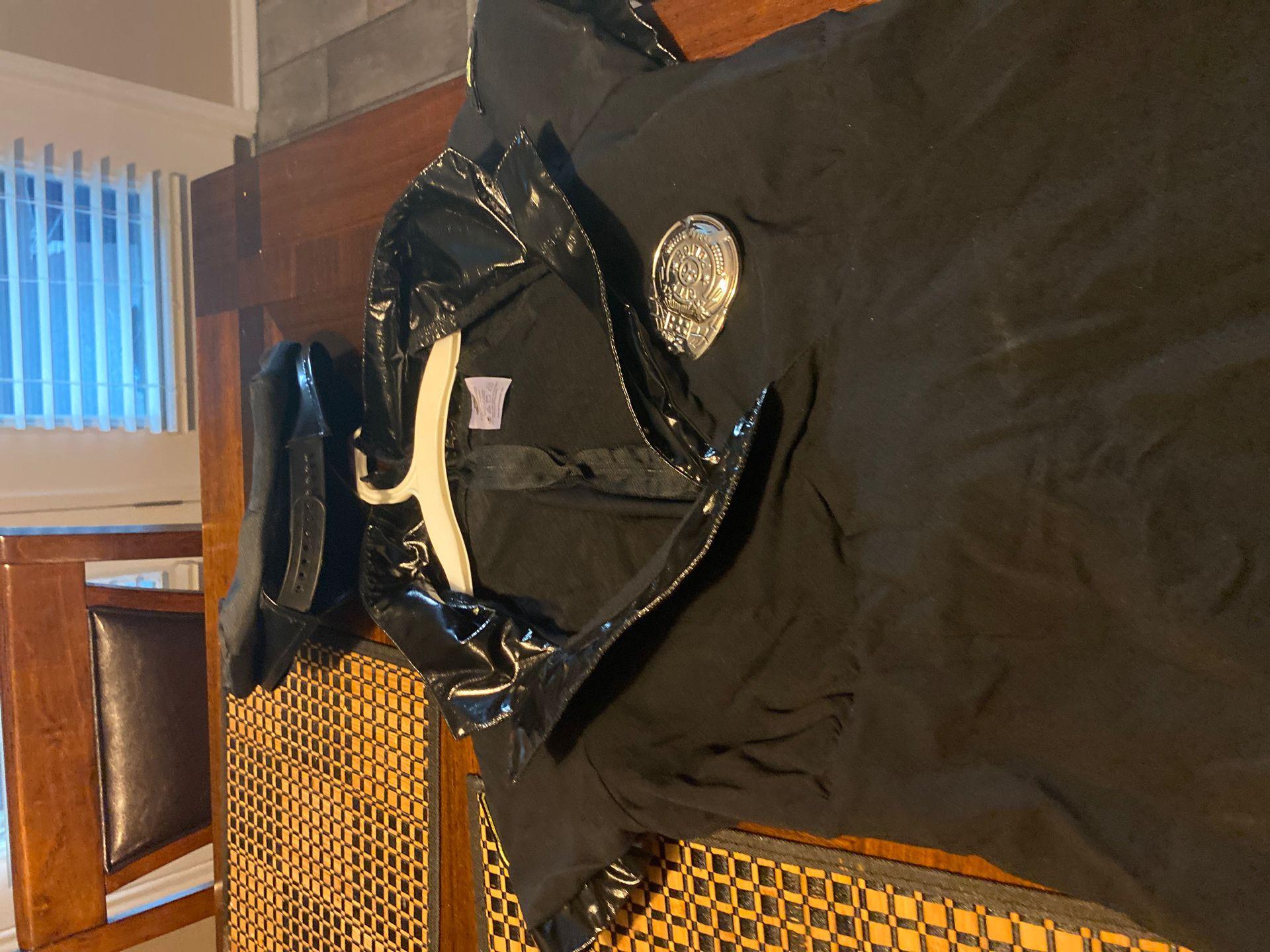 Adults medium size police Halloween costume
