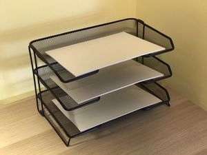 Rolodex Mesh 3-Tiered Desk Tray (Office / Desk Organizer) for Sale in Leesburg, VA