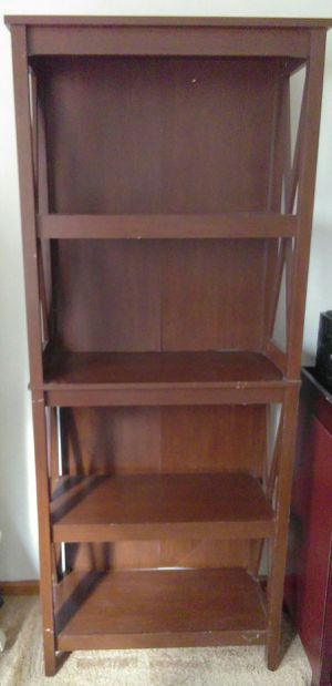 Bookcase or storage shelves for Sale in Detroit, MI