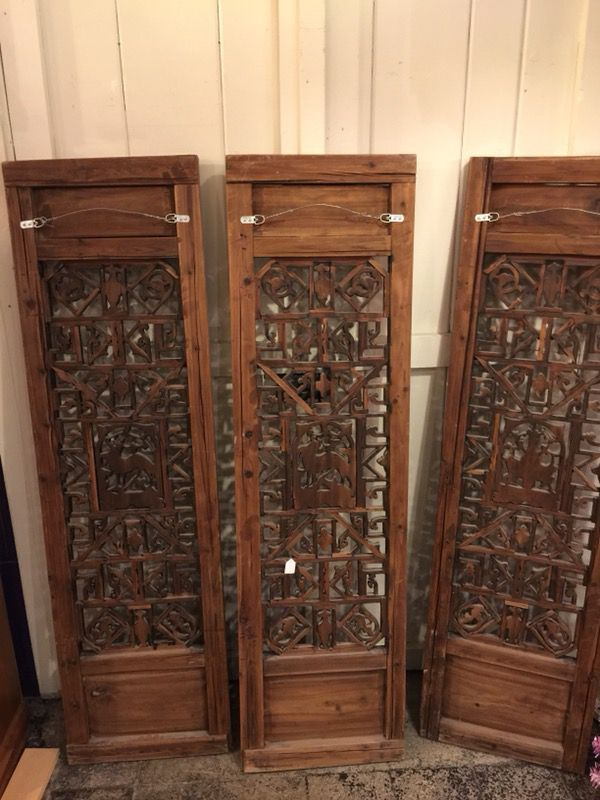 Asian/Chinese Wedding Bed Panels Wood (Antiques) in Carnegie, PA ...