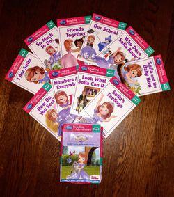 Disney's Sofia the First pre-1 readers box set Thumbnail