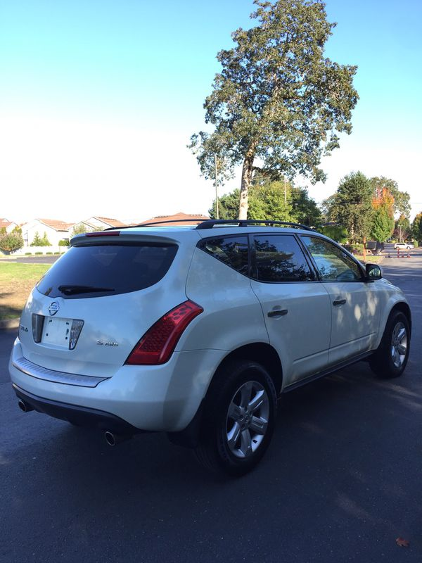 nissan murano awd 2006 low miles for sale in tacoma wa offerup. Black Bedroom Furniture Sets. Home Design Ideas