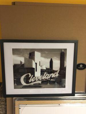 Cleveland art framed for Sale in Cleveland, OH