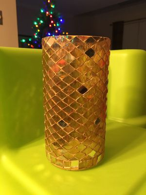 Gold Reed Diffuser Vase and Candleholder for Sale in VA, US