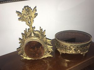 Antique perfume bottle and vanity box for Sale in Oakland Park, FL