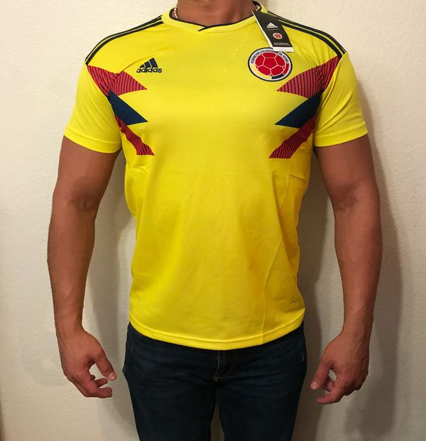 Camiseta Selección Colombia Triple A   New Colombian Jersey for Sale ... 228b64178