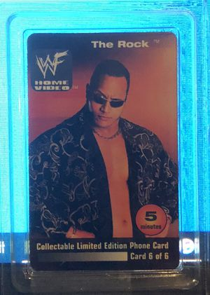 WWF Home Video Collectible Card for Sale in Tavares, FL