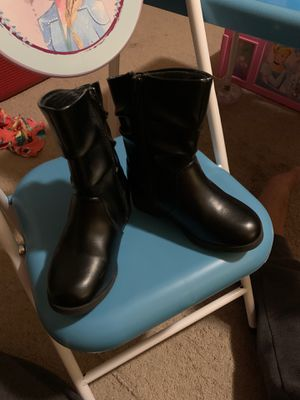Photo Toddler girl boots