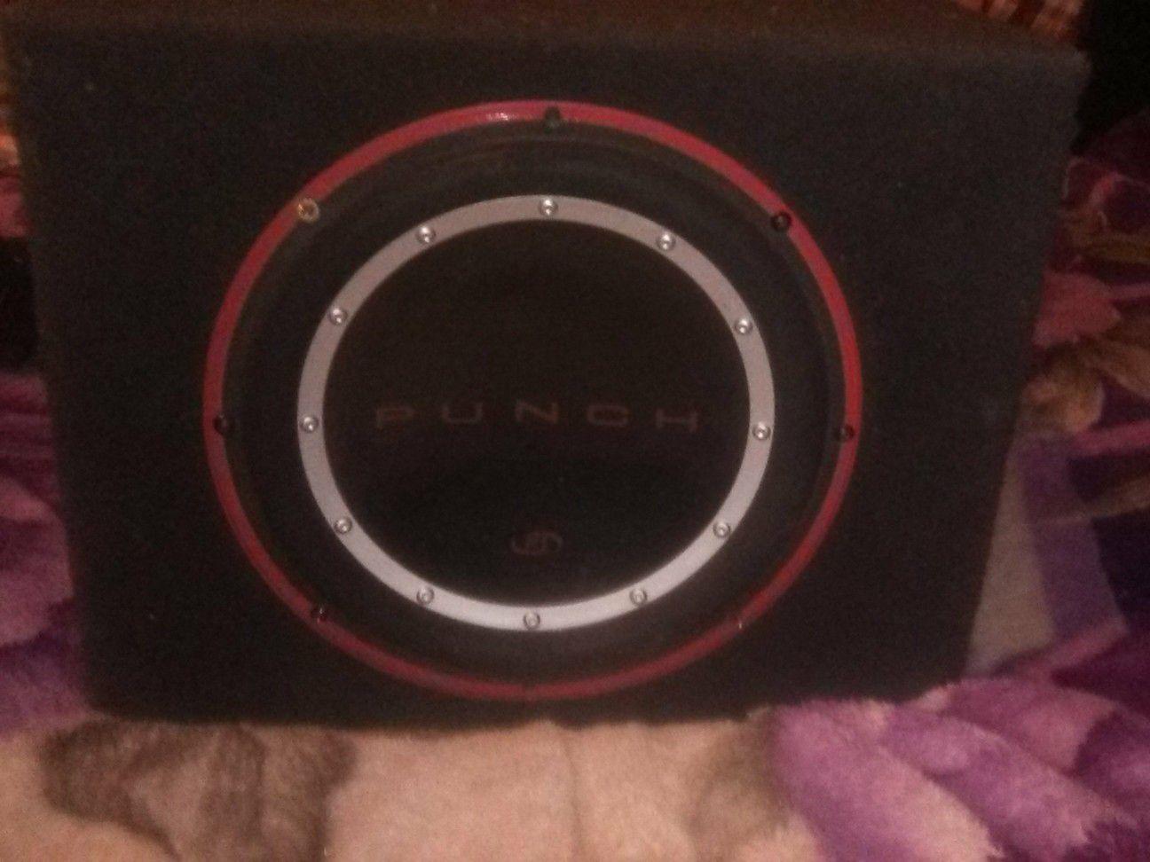 Rockford fosgate punch 10 inch speaker