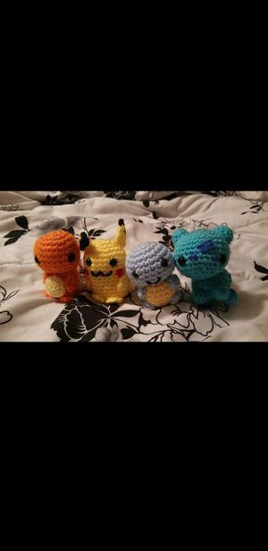 Pokemon Starter Amigurumi - Created by Miss BajoAvailable for sale ... | 616x300