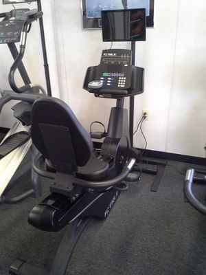 True Fitness 750R Exercise Recumbent Bike/Bicycle $900 OBO for Sale in Alexandria, VA