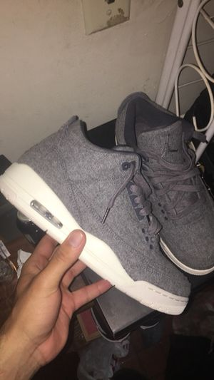 Wool 3s size 9.5 for Sale in Manassas, VA