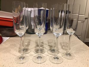 7 Champagne glasses for Sale in Washington, DC