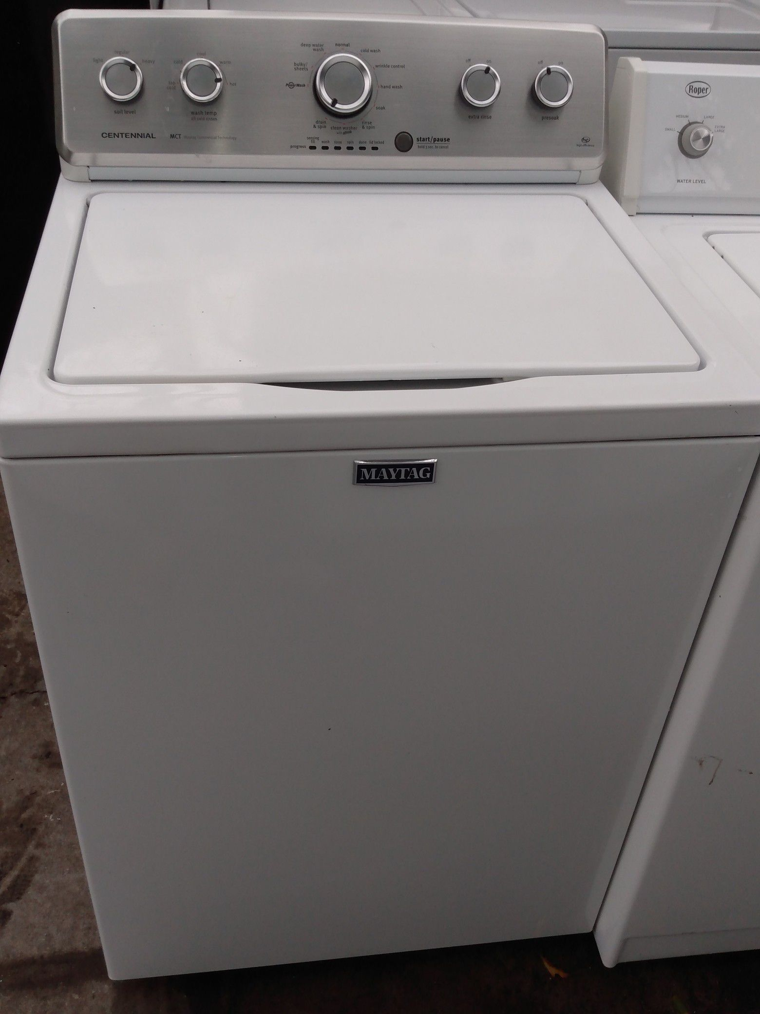 maytag washer deliver free instalación free 3 months warranthy