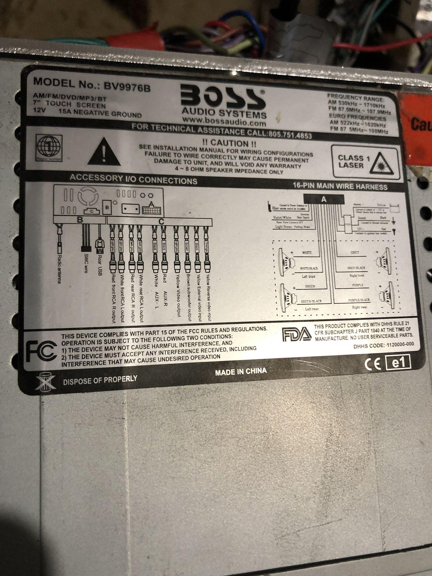 Boss bv9976b