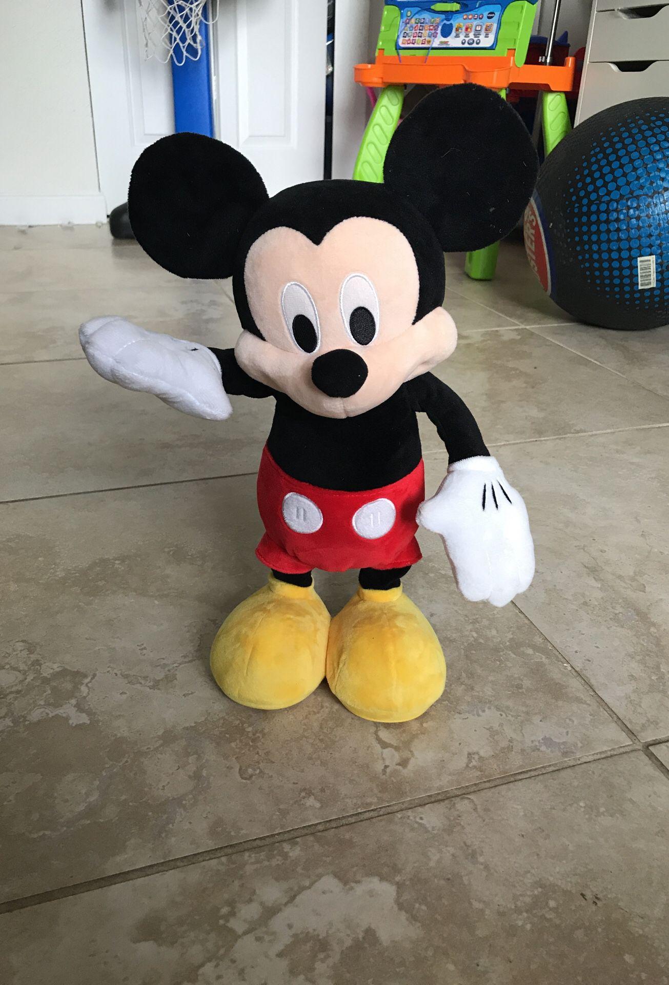 Dancing hot dog diggity dog Mickey Mouse