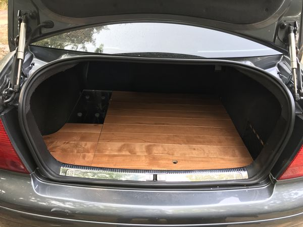 Jlb 10in Sub Mk4 Jetta Stealthbox And False Trunk
