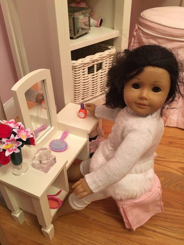 Pottery Barn Doll Madeline Vanity For Sale In Malden Ma