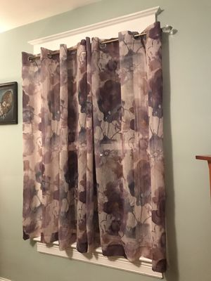 BRAND NEW ANDORRA CURTAINS for Sale in Washington, DC